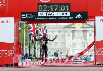 Mary Keitany gana el maratón de Londres