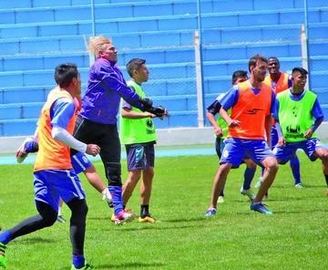 Jugadores apuntan a un triunfo en La Paz