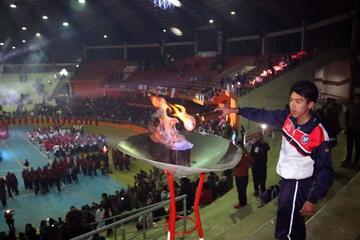 La Villa Imperial inaugura los Juegos Deportivos de la Juventud Trasandina