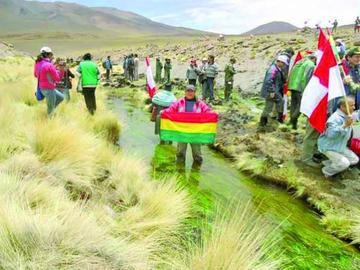 Bolivia establece reserva en su estrategia para juicio por el Silala