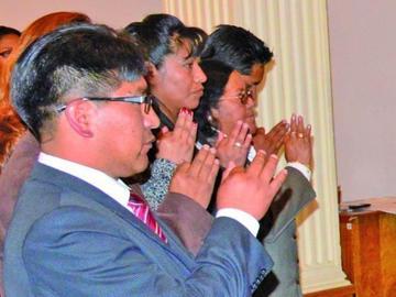 Los vocales del Tribunal Electoral de Potosí asumen sus funciones