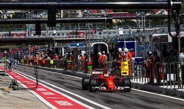 Vettel sale primero en el GP de Rusia