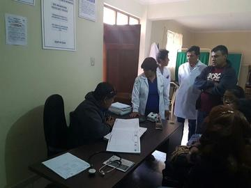 Invierten 2.5 millones de Bolivianos en capacitación de personal sanitario