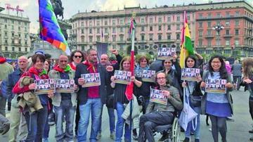 Activan vigilias y protestas por los 9 bolivianos detenidos en Chile