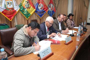 La UATF y Tupiza firman convenio de cooperación