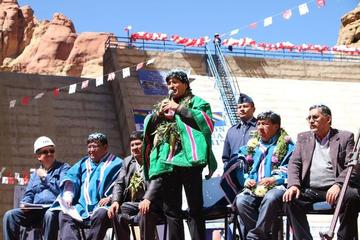Presidente Morales llega hoy a Potosí para entrega de obras