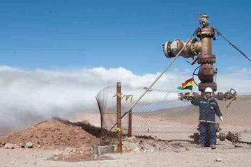 Aprueban crédito para la planta geotérmica de Laguna Colorada