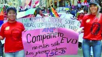 Caso Zapata: Tribunal le da a Cristina Choque detención domiciliaria