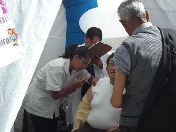 Sigue vacunación para la influenza
