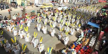 Vecinos de El Alto sugieren construir un folclódromo
