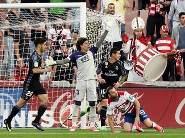 Real Madrid golea a Granada