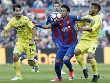 Messi, Neymar y Luis Suárez mantienen vivo al Barza