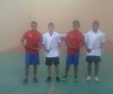 Potosí juega hoy la final de raqueta frontón