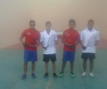 Potosí se corona campeón en raqueta frontón