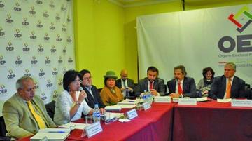 OEP inicia auditoría al Padrón Electoral con apoyo de la OEA