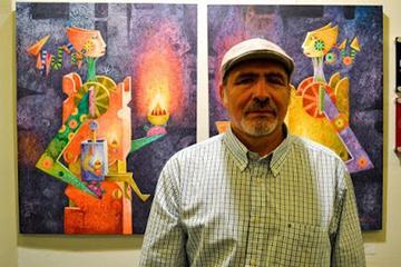 Pintor boliviano obtiene el  premio Francisco de Goya
