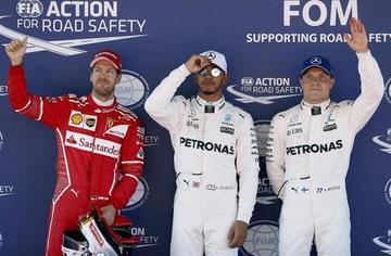 """Hamilton toma la """"pole"""" en el Gran Premio de España"""
