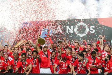 Benfica se corona campeón de la Liga portuguesa