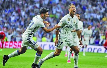 Real Madrid logra una goleada con aroma a título