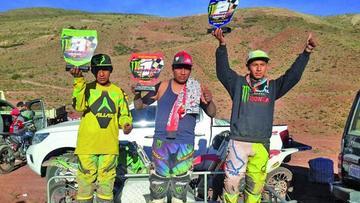Tacuri gana la cuarta competencia de motociclismo