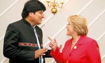 Presidente Morales está abierto a  dialogar con Bachelet en Ecuador