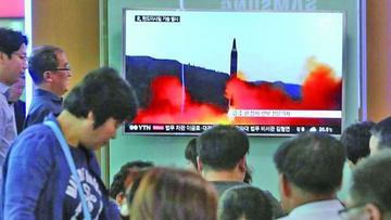 ONU condena el ensayo de misiles de Corea del Norte