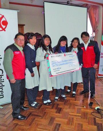 Proyectos juveniles reciben apoyo para su ejecución
