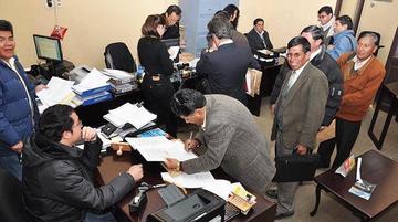 Potosino se habilita como candidato al poder judicial