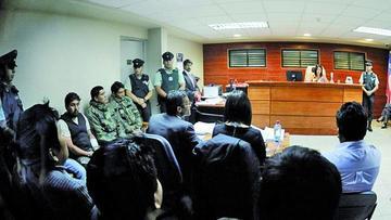Los nueve detenidos en Chile descartan declararse culpables
