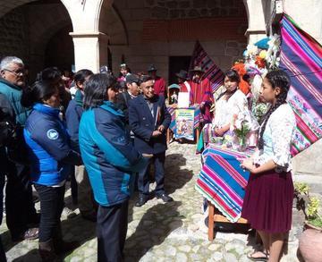Alumnos relatan fiestas de Chaquí