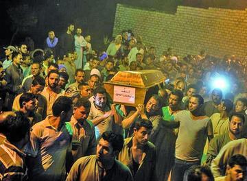 Ataque del Estado Islámico deja 28 muertos y Egipto responde