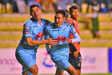 Bolívar golea 5-0 a Blooming