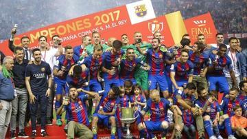 Barza conquista la Copa del Rey