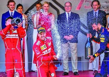 Sebastián Vettel gana el Gran Premio de Mónaco