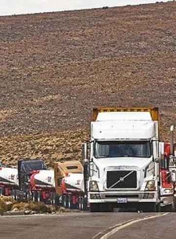 Cámara de Transporte Pesado reporta pérdida de $us 180.000 al día