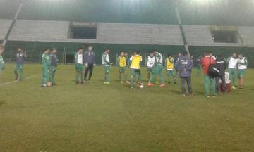 La selección nacional parte con destino a Managua