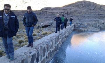 Funcionarios de la AAPS inspeccionaron las lagunas