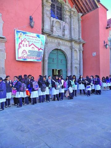 La Merced y San Lorenzo se llenaron de visitantes