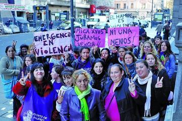 """Argentinas vuelven a las calles  contra la violencia """"machista"""""""