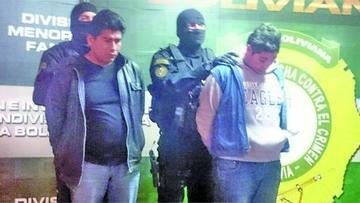 Capturan a una banda de abrazadores en La Paz