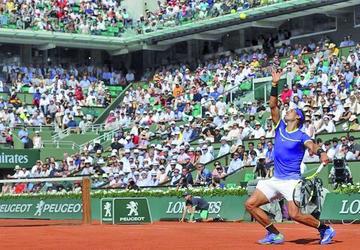 Nadal pasa a octavos en los Roland Garros
