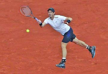 Murray gana a Del Potro en los Roland Garros