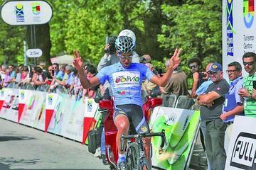 Mendoza vence en la segunda etapa del GP Beiras Sierra