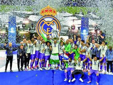 Real logra el bicampeonato de la Champions