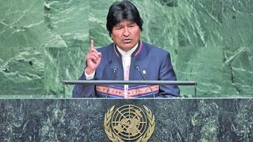 ONU: Evo denuncia que paros en Chile generaron $us 206 MM de pérdida