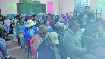 Tupiceños amenazan con bloquear caminos por proyecto de agua