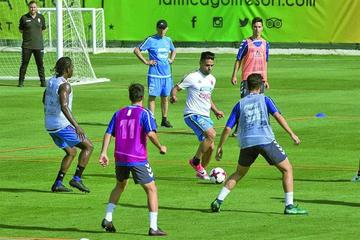 Colombia prepara el amistoso contra España