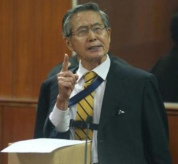 Fujimori será juzgado por delitos de lesa humanidad