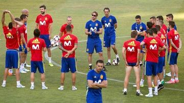 España se mide a Colombia con la mirada puesta en el Mundial