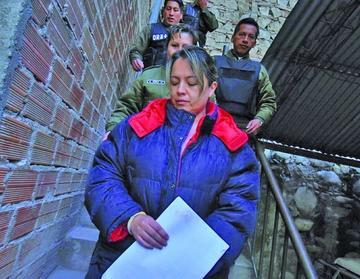 Van a prisión la exgerente legal de YPFB debido al caso Taladros